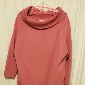 White Stag XL Pink sweater gorgeous